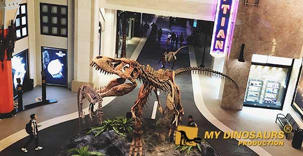 hello dinosaur skeleton