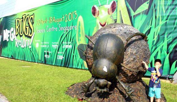 Megabugs Return   Giant Size Animatronics Insect