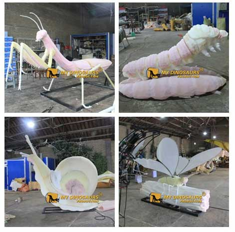working process of insect