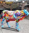 Cow parade cow statue 12