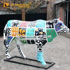 Cow parade cow statue 9