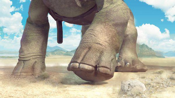 dinosaur footprint fossils